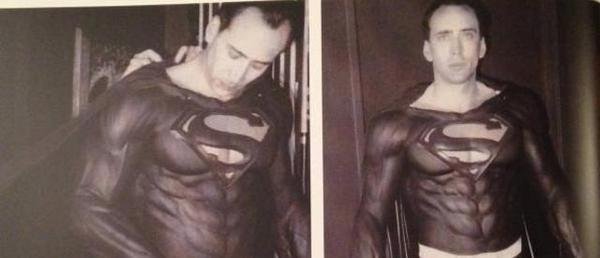 Nic Cage as Superman