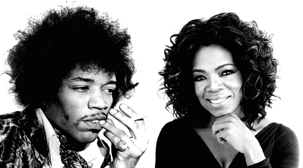 Hendrix and Oprah