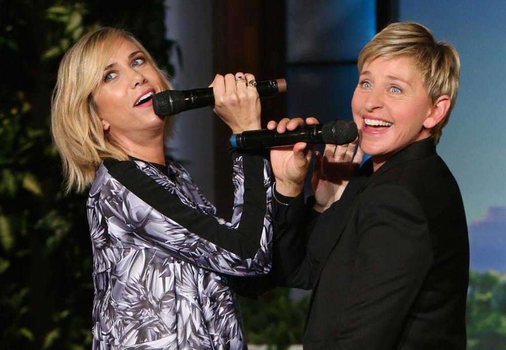 Wiig and Ellen