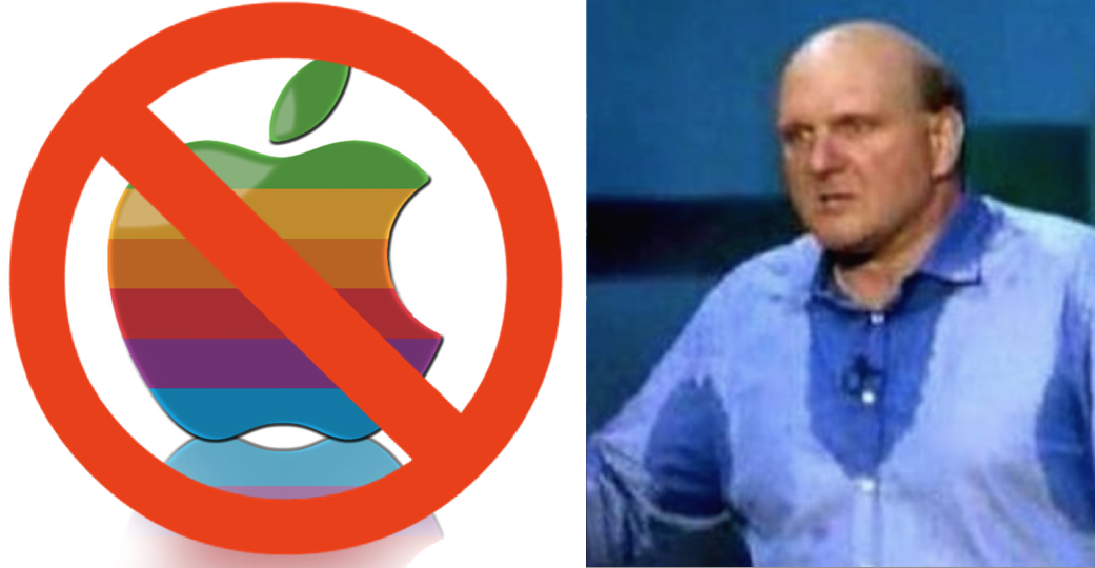 NO Apple Ballmer