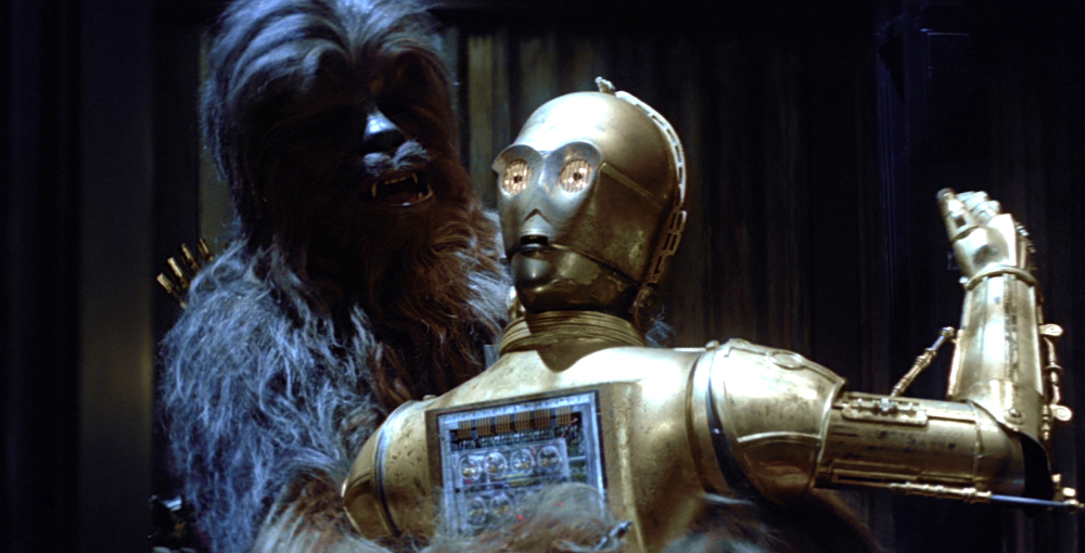 Chewie and Threepio