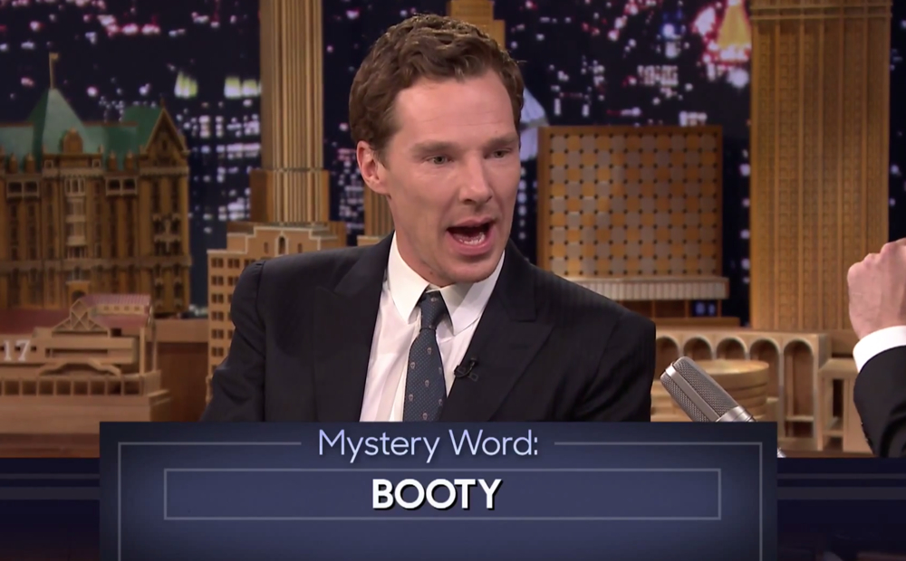 Cumberbatch on Fallon
