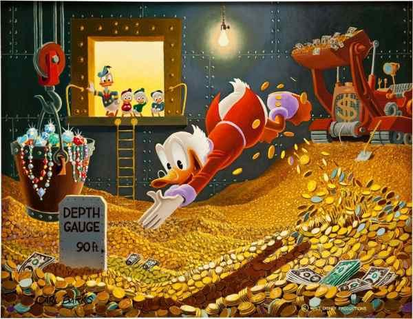 Carl Barks' Scrooge McDuck - Sport of Tycoons