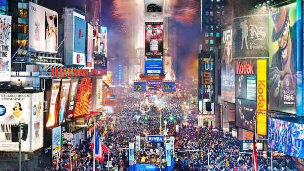 Times Square - New Year's Eve