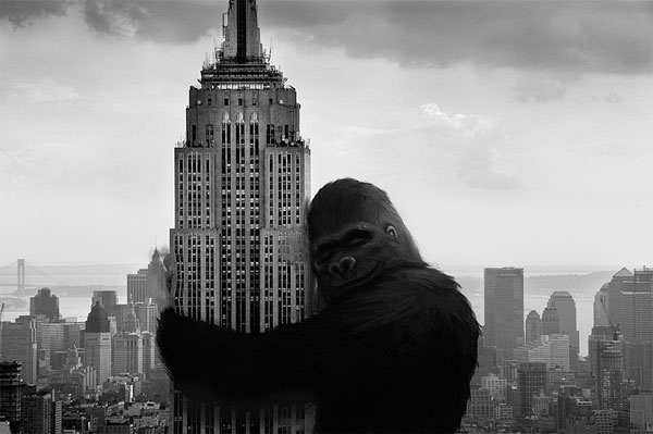 Kong and Empire State Building