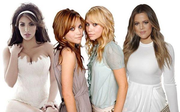 Kim, Ashley, Mary Kate, Khloe