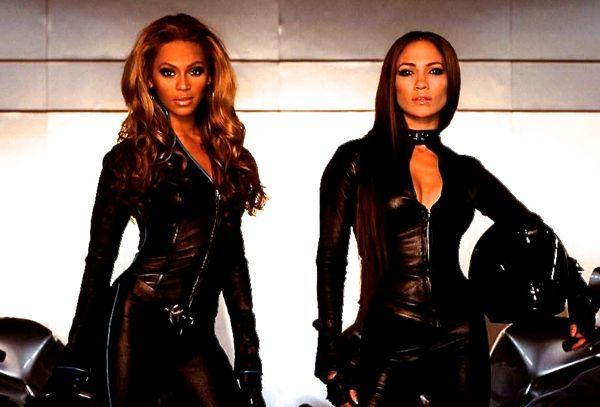 Beyonce and JLo