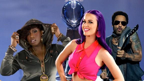 Katy Perry, Missy Elliott, Lenny Kravitz