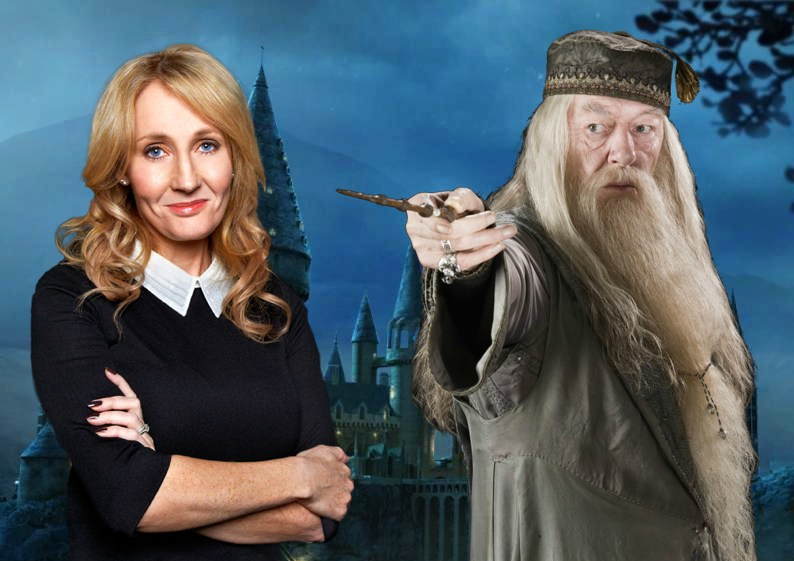 Rowling and Dumbledore