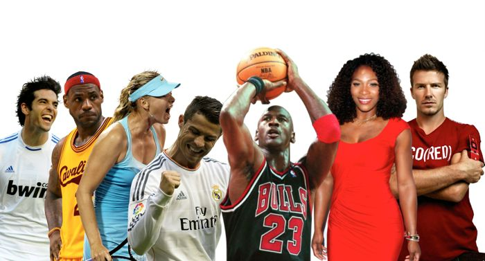 The Net's Top Athletes