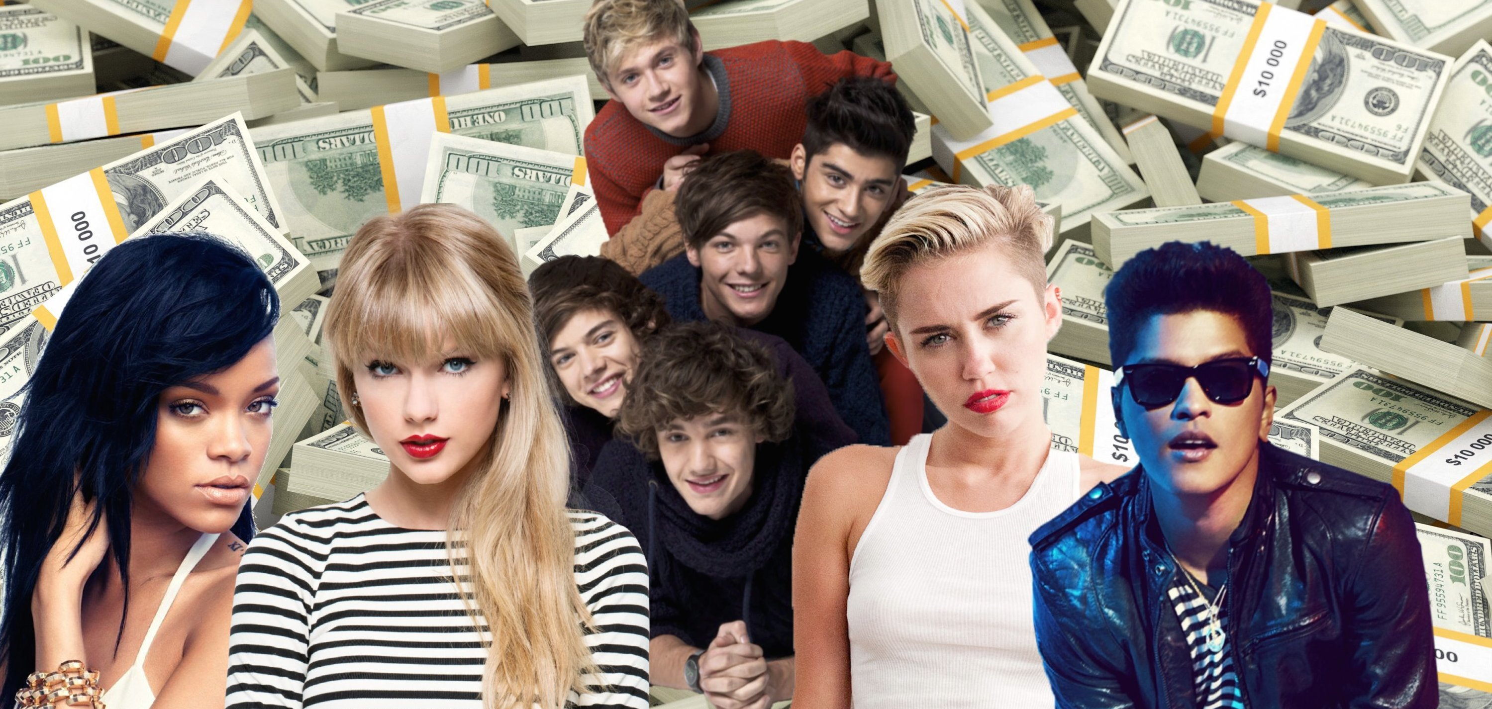 Richest Young Celebs