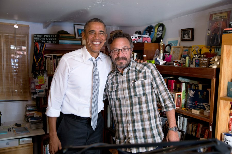 Obama and Maron