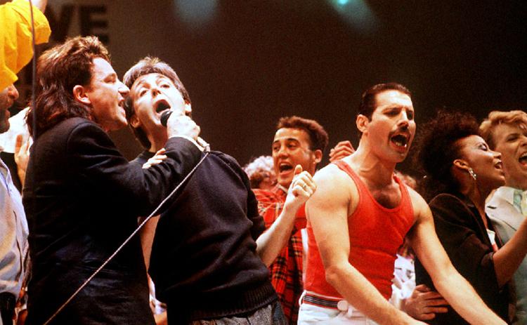 The Beatles Polska: Paul McCartney na koncercie Live Aid