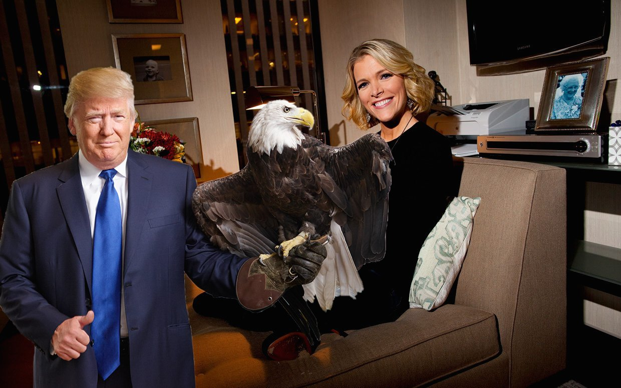 Megyn and Eagle Donald