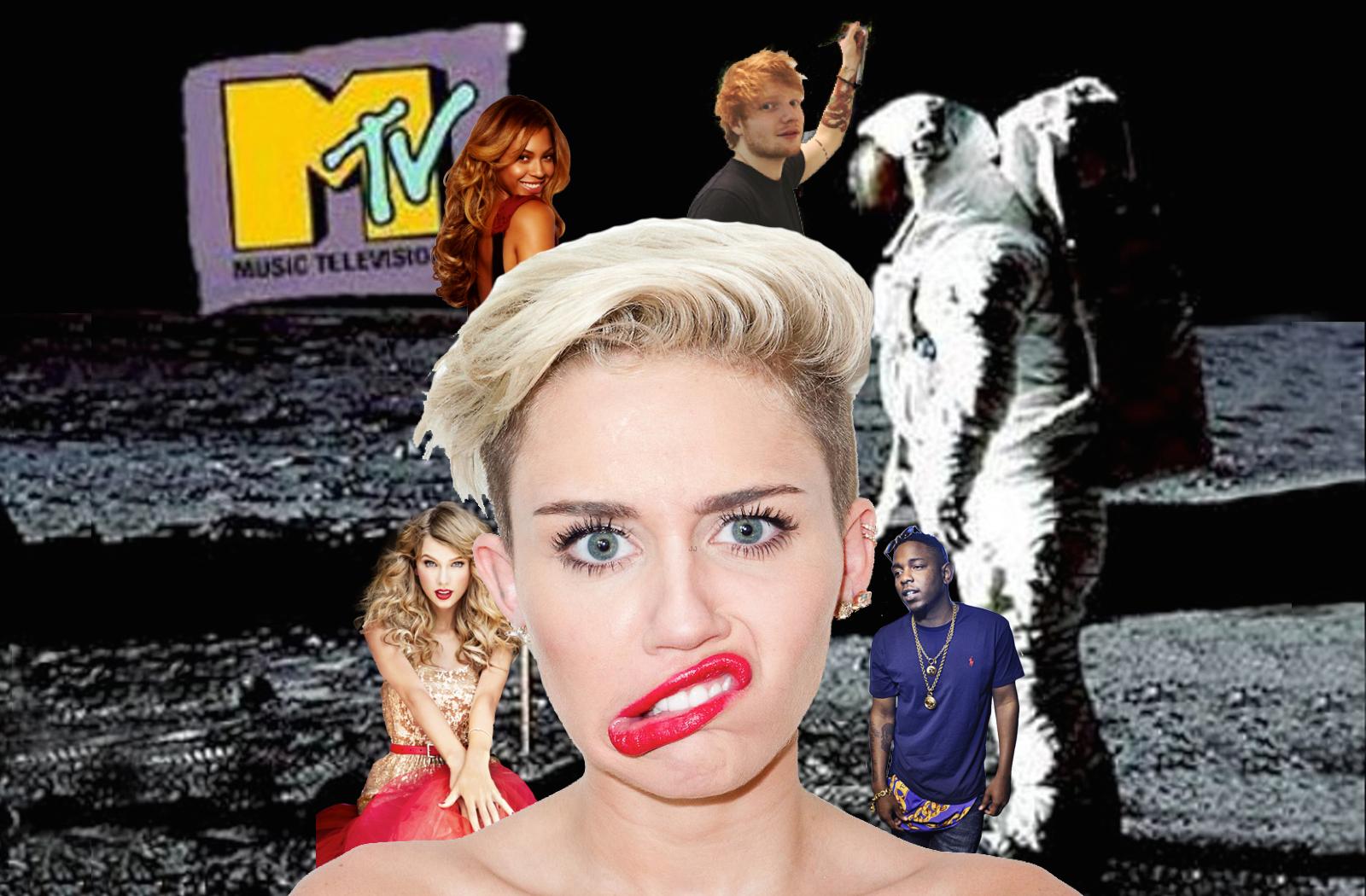VMAs - Miley, Taylor, Ed, Bey, Kendrick