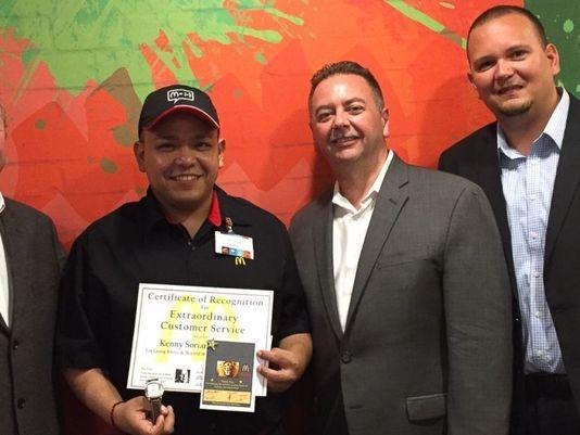 McDonald's certificate