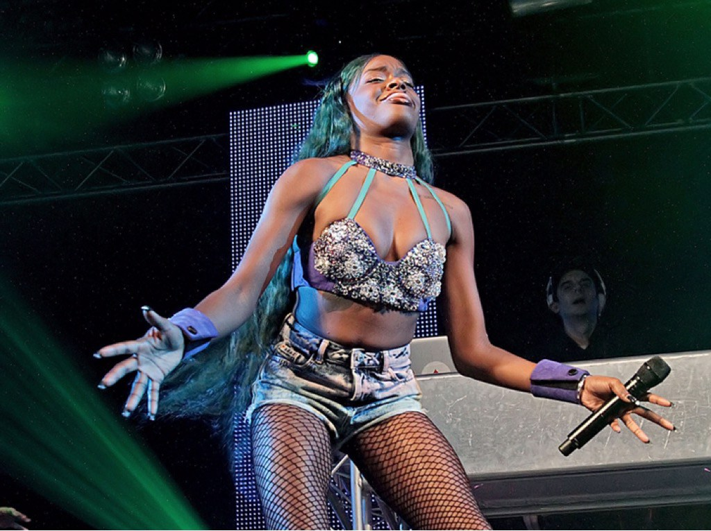 Azealia Banks Admits To Biting Bouncer's Nipple and Gets Probation