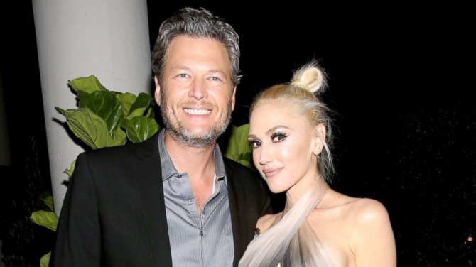 Gwen Stefani Thanks Blake Shelton for 'Kissing Me Back to Life'