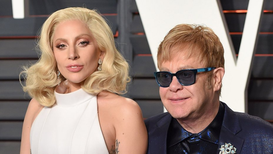 "Watch Lady Gaga and Stevie Wonder Sing ""Happy Birthday"" to Elton John"
