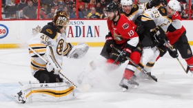 Bruins Take Split Back to Boston