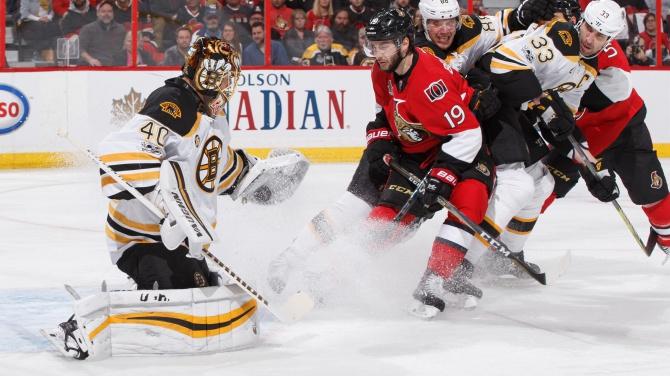 Bruins Take Split Back to Boston