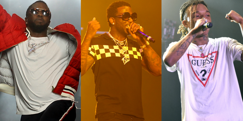"Coachella 2017: Watch Gucci Mane Bring Out Diddy, Perform ""Black Beatles"" With Rae Sremmurd, More"