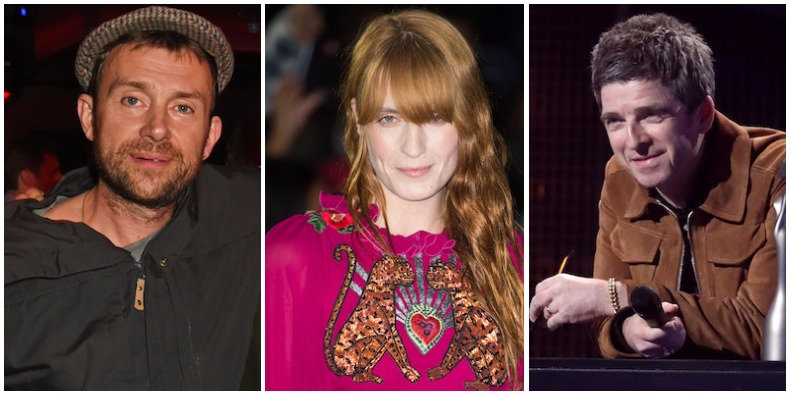 Damon Albarn, Florence, Noel Gallagher, More Donate Belongings to Charity Garage Sale