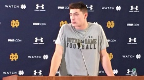 Irish backup QB Ian Book among five standouts at Notre Dame Blue-Gold Game
