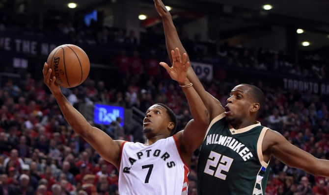 Kyle Lowry bounces back in Game 2, helps Toronto Raptors even series with Milwaukee Bucks