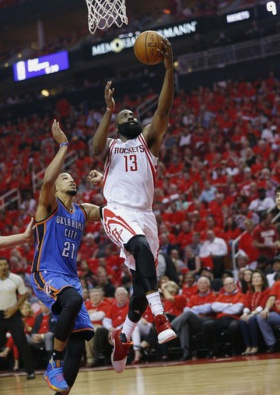 Rockets advance with 105-99 win over Thunder (Apr 25, 2017)