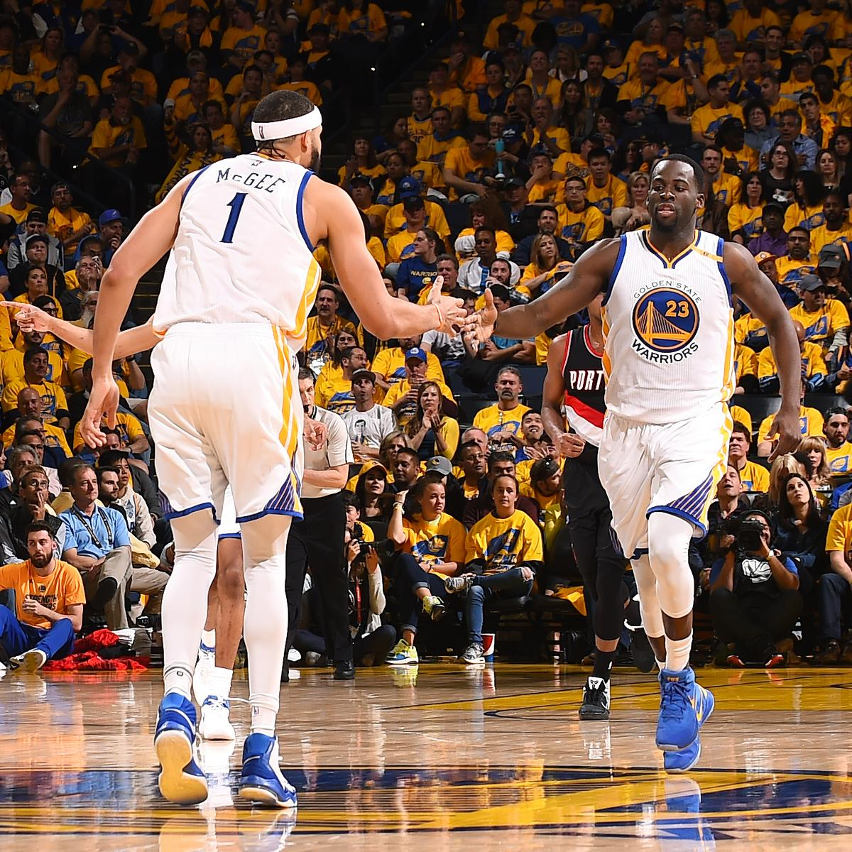 Steph Curry, Warriors Take Control of Series with 110-81 Game 2 Win