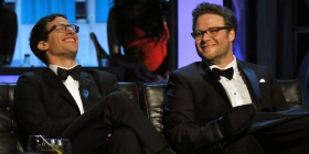 The Lonely Island, Seth Rogen Say Fyre Festival Fiasco Sounds Like a Movie They're Making