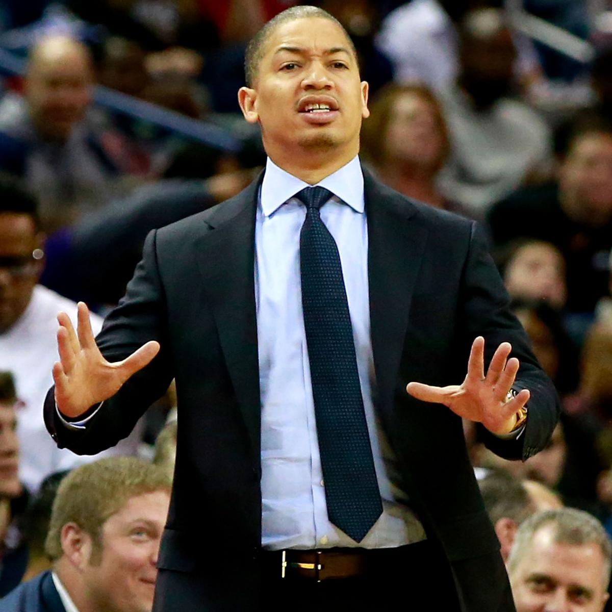 Tyronn Lue Rips Cavaliers After Hawks Loss, Doesn't Think Team Respected Atlanta