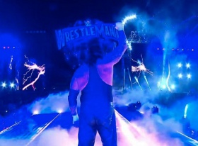 WrestleMania 33 results: The Undertaker breaks character, hugs his wife then retires after Roman Reigns defeat