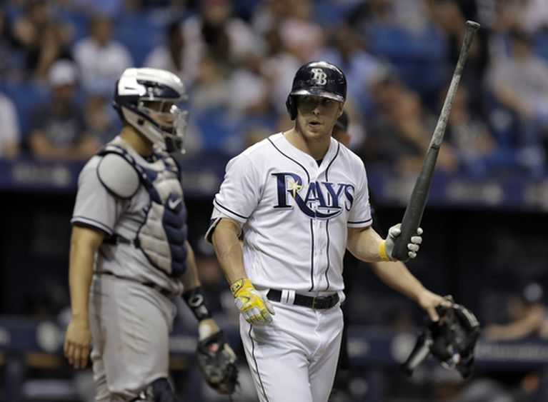 3 batters hit, 3 ejections in Rays' 9-5 win over Yankees (May 20, 2017)