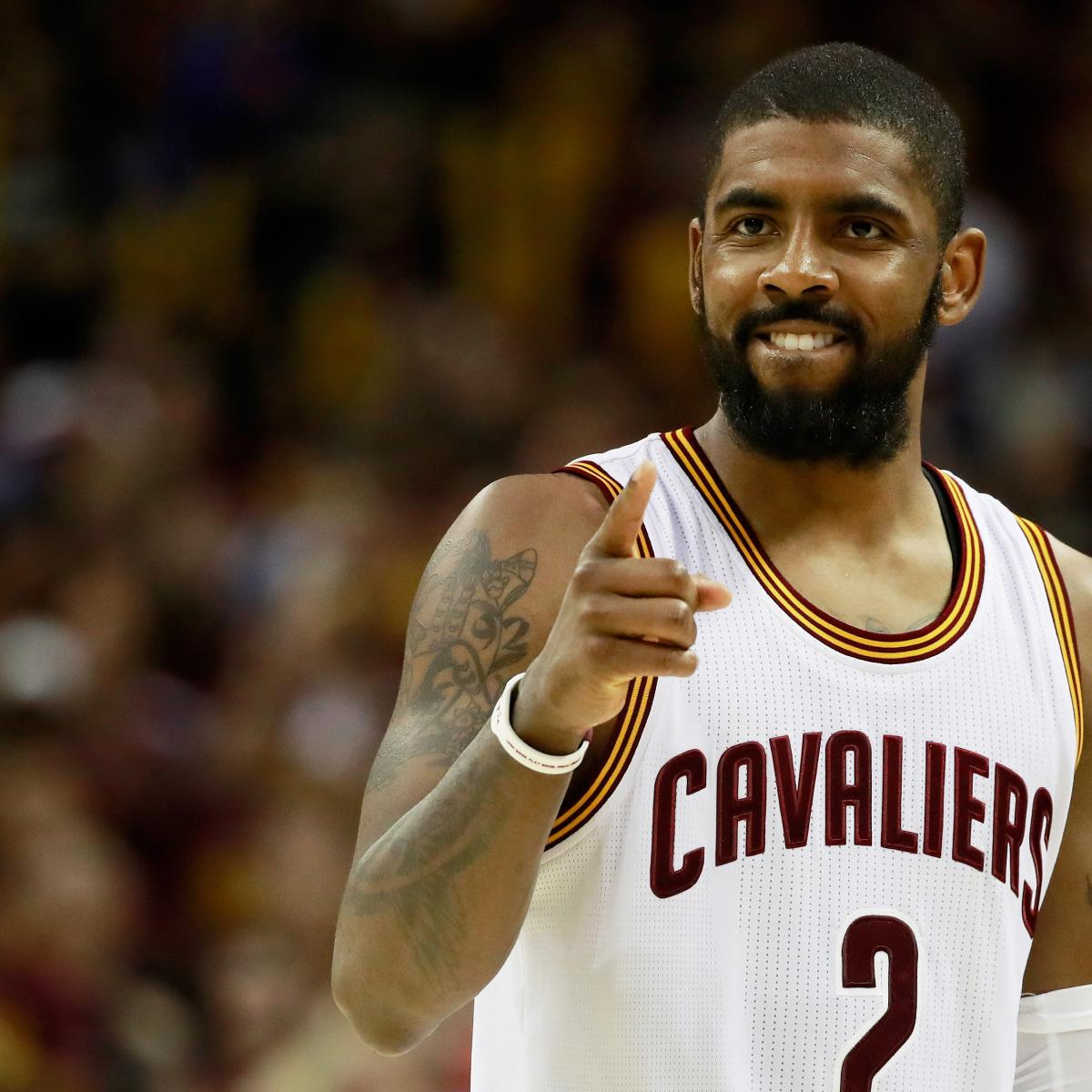 Kyrie Irving Reminding NBA How Crucial He Is to Cavaliers' Title Defense