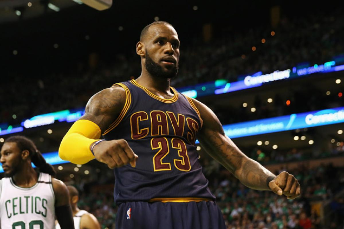 LeBron James breaks Michael Jordan record as Cavs are back in Finals with 135-102 win