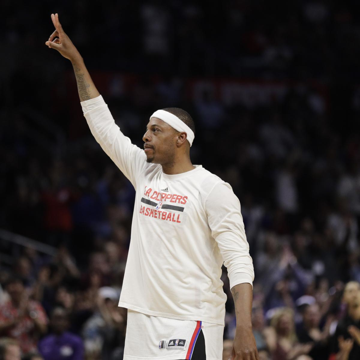 Paul Pierce Says Celtics Should Trade No. 1 Pick in 2017 NBA Draft