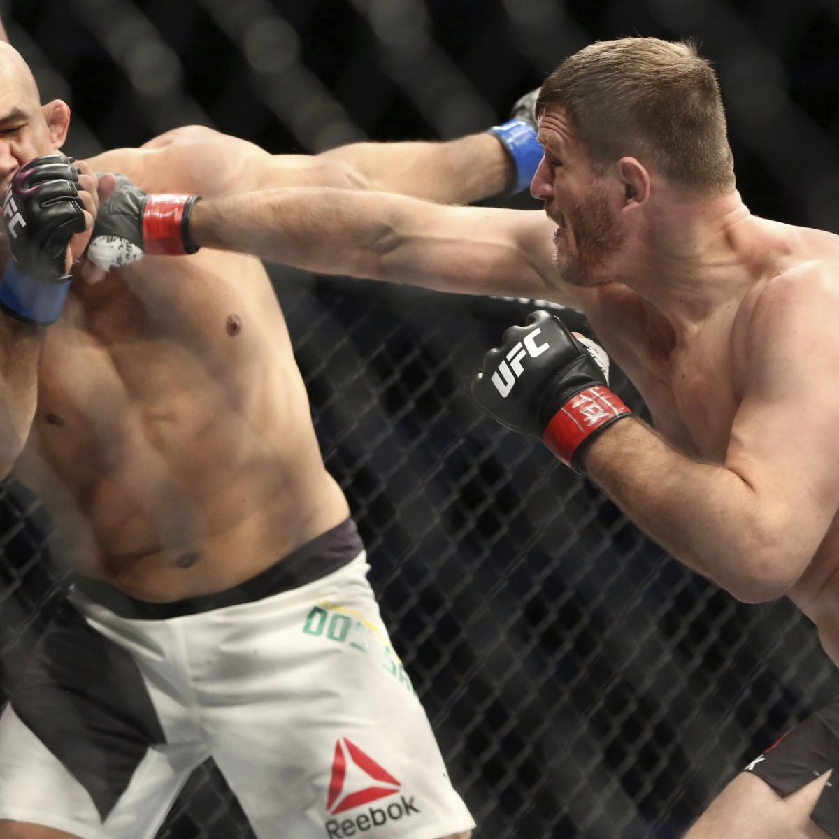 Stipe Miocic, the UFC's Unlikeliest Champ, Nears Heavyweight History