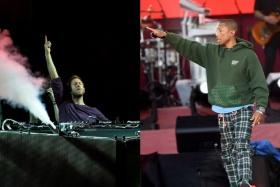 "Calvin Harris's Fun, Frivolous ""Feels"" Is Worth it for the Pharrell Verses Alone"