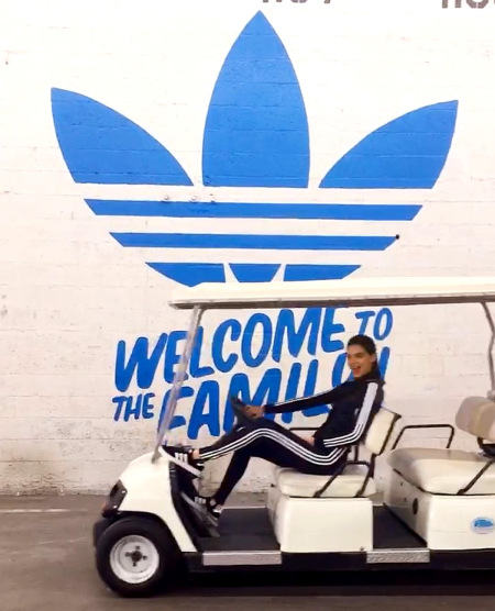 Kendall Jenner Officially Signs on as an Adidas Ambassador