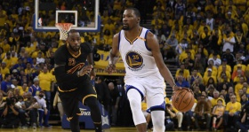 Kevin Durant looked like the NBA's best player in Game 2, but he's not there yet