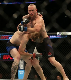 UFC Fight Night 112 winner Darrell Horcher discusses emotional comeback after near-death