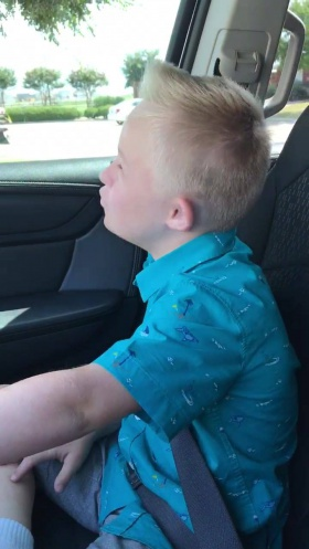 9-year-old boy with Down syndrome goes viral with rendition of Whitney Houston song