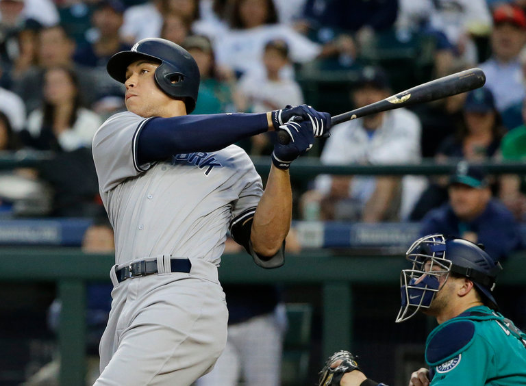 Aaron Judge's Power Bursts Back Into View With a Towering Blast