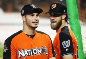 MLB looks to Bryce Harper, Mike Trout, Aaron Judge to connect with fans