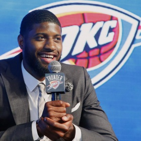 Paul George Says He Was Surprised to Be Traded to Thunder