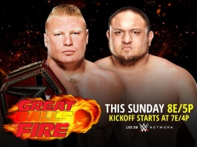 WWE Great Balls of Fire 2017: B/R Expert Match Picks, Predictions and Analysis