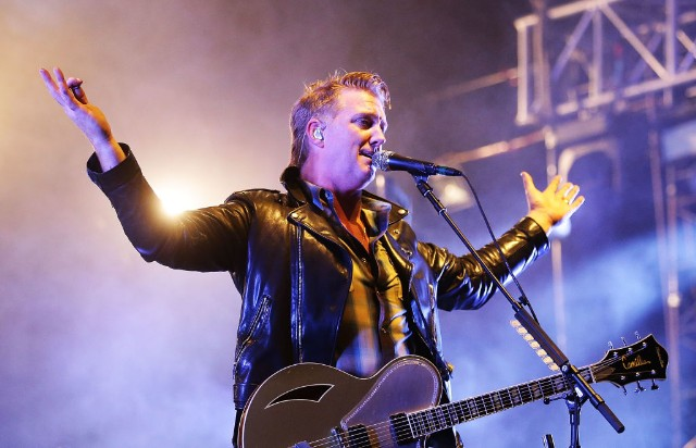 "Queens of the Stone Age's ""The Evil Has Landed"" Offers Pummeling Inspiration"