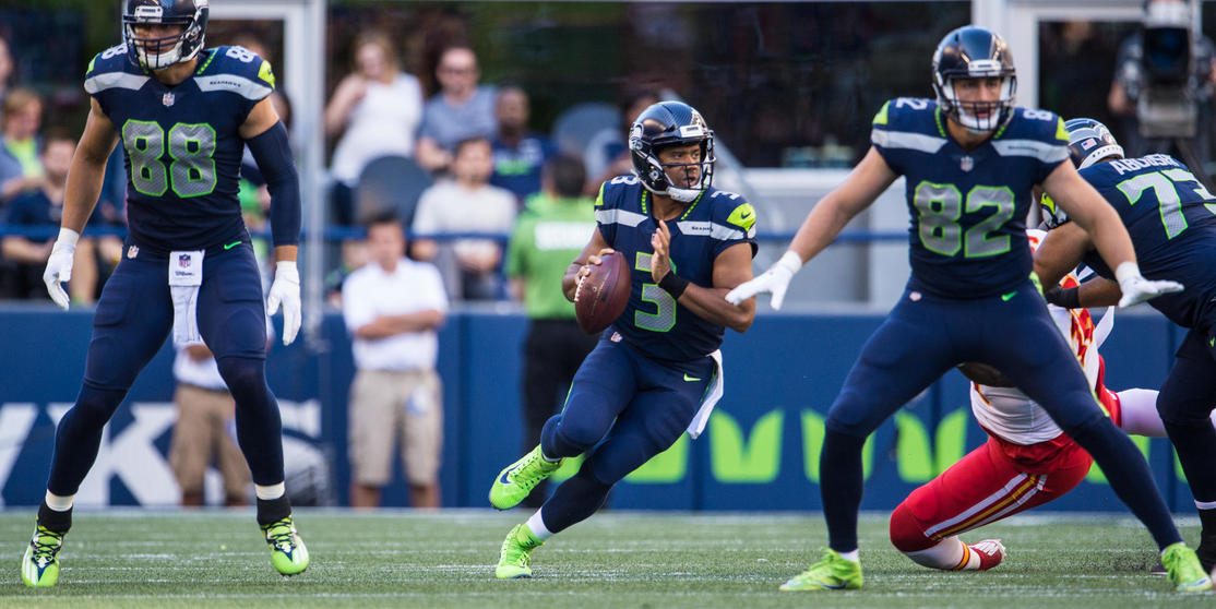 "Seahawks Quarterback Russell Wilson ""Really Tuned In"" As Season Approaches"